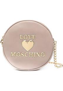 Love Moschino Bolsa Transversal Redonda - Neutro