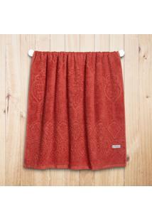 Toalha Banho Altenburg Monarca 100% Algodão Secret Vermelho - 75Cm X 1,40M Vermelho