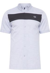 Camisa Masculina Insert - Cinza