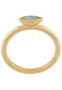 Astley Clarke Paloma Fallen Petal Ring - Dourado