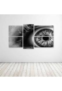 Quadro Decorativo - Eye Draw.Jpeg - Composto De 5 Quadros