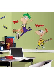 Adesivo De Parede Phineas E Ferb