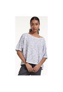 Blusa Oversized Em Moletinho Rustico Brohood Branco