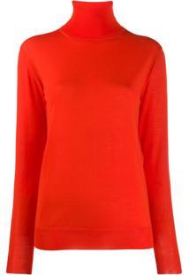 Stella Mccartney Camisa Polo - Vermelho