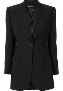 Dolce & Gabbana Tuxedo Jacket - Preto