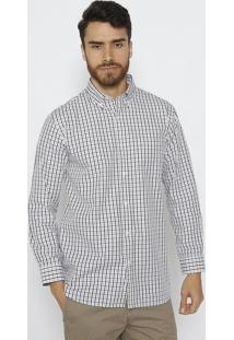 Camisa Com Bolso - Branca & Preta - Trend For Youtrend For You