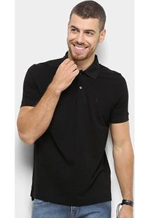 Camisa Polo Zoomp Pima Cotton Masculina - Masculino-Preto