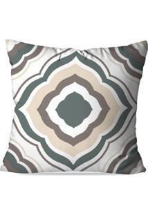 Capa De Almofada Love Decor Geometric Multicolorido Cinza