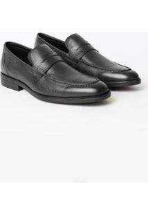 Sapato Social Aviator Houston Masculino - Masculino-Preto