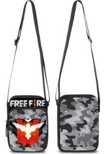 Mini Bolsa Marvs Bag Shoulder Transversal - Unissex-Cinza