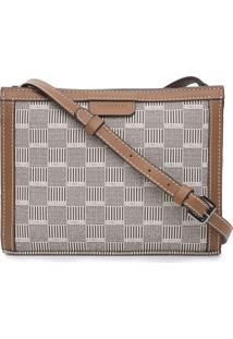 Bolsa Transversal Corello Cross Bag Marrom