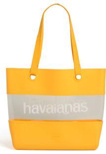 Bolsa Havaianas Beach Bag Dna Amarelo - Kanui