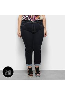 Calça Jeans Sawary Plus Size Feminina - Feminino