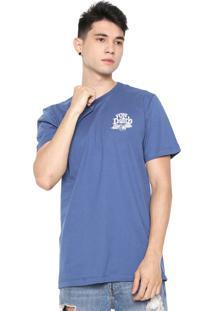 Camiseta Von Dutch Riders Supreme Quality Azul-Marinho