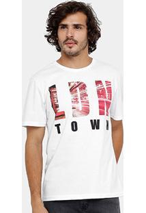 Camiseta Burn Londres Masculina - Masculino