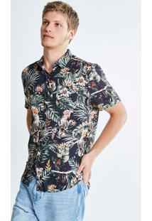 Camisa Estampada Calopsita