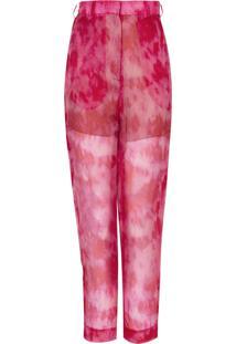 Calca Atelier Le Lis Karina Pink Shade (Estampa Pink Shade, 34)