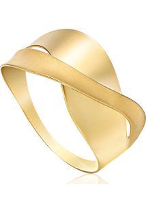 Anel Em Ouro Amarelo 18K 18