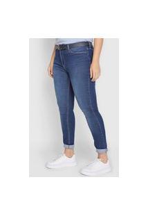 Calça Jeans Calvin Klein Jeans Skinny Basic Azul