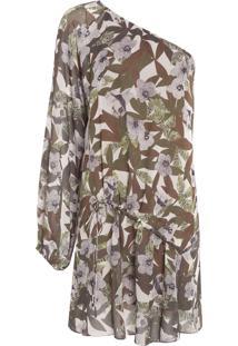 Vestido Ombro Só Flor Safari - Verde