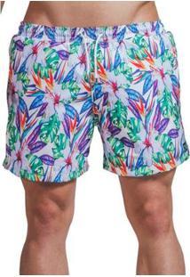 Short Verão Impermanence Estampa Floral Masculino - Masculino