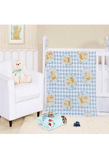 Cobertor Manta Bebe Baby Flannel Fofo - Mimo