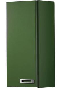 Armário Aéreo 1 Porta Kenzo 160 Verde Musgo - Maxima