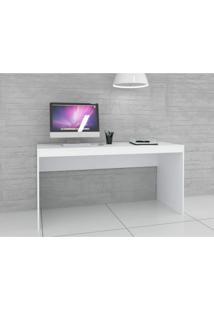 Escrivaninha Home Office Hecol Móveis Branco/Branco