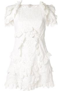 Thurley Vestido Clássico - Branco