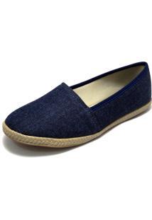 Alpargata G Shoes Jeans Azul