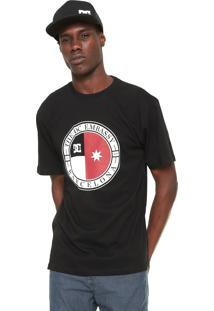 Camiseta Dc Shoes Core Embassy Preta