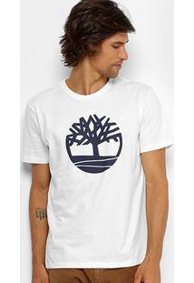 Camiseta Timberland Kennebec Tree Masculina - Masculino