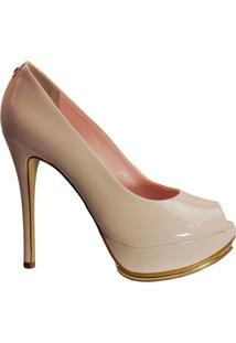 fa4cb1ece4 Sapato Peep Toe Jorge Bischoff J30022001 E05 - Feminino-Nude