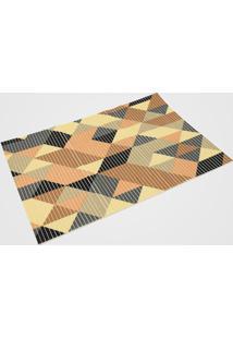 Tapete Kapazi Tropical Triangulos Color 0,43M X 0,65M