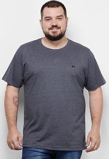 Camiseta Yellowl Básica Plus Size Masculina - Masculino