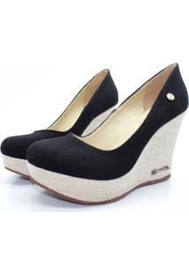 Scarpin Barth Shoes Land Jt Nat Lona - Preto - Kanui
