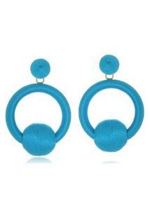 Brinco Le Diamond Vivienne Azul