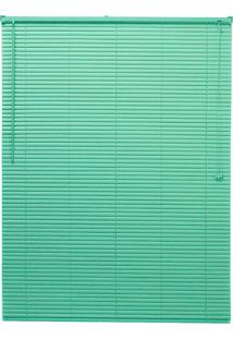 Persiana Up Pvc 25Mm 160X130 - Evolux - Verde