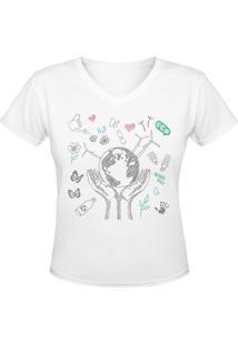 Camiseta Nerderia Eco 2 Branco