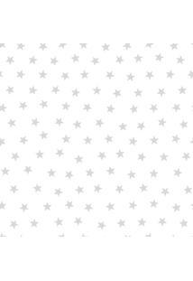 Papel De Parede Lymdecor Estrela Prata Multicolorido