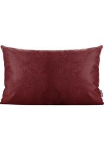 Capa Para Almofada Elephant Skin- Vinho- 30X50Cmstm Home