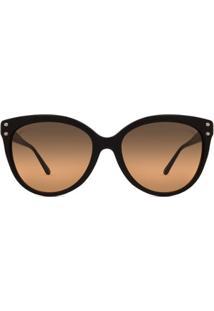 Óculos De Sol Michael Kors Jan Mk Feminino - Feminino-Preto