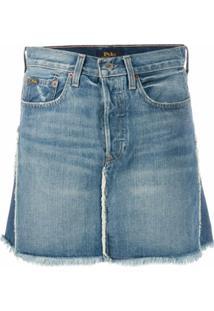 Polo Ralph Lauren Camisa Jeans Bicolor - Azul