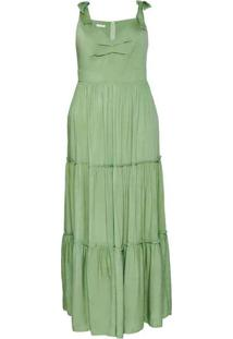 Vestido Almaria Plus Size Sinap Longo Três Marias