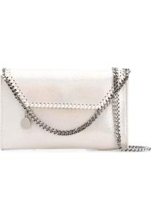Stella Mccartney Clutch Falabella - Cinza