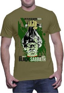 Camiseta C1C Black Sabbath Verde Militar
