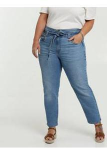 Calça Clochard Jeans Feminina Plus Size Marisa