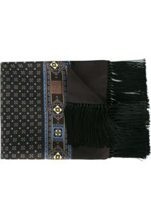 Dolce & Gabbana Lenço De Seda - Marrom
