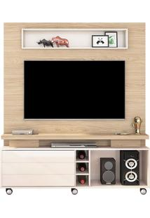 "Estante Home Para Tv Até 60"" Quebec Duna/Off White"
