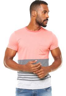 Camiseta Malwee Recorte Coral